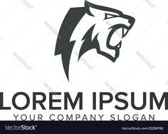 Slogan, Beast Logo, Logo Design