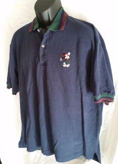 Walt Disney World golf shirt Blue with mickey ec5c26ff4
