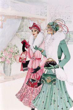 artdeco.quenalbertini: Elegant Ladies | VK