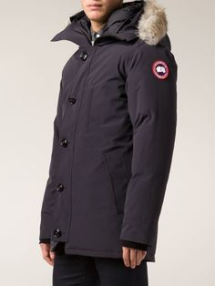 Canada Goose expedition parka online official - Gray Chateau Parka with Coyote Fur Trim