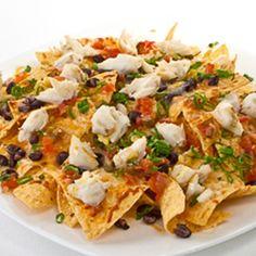 Blue Crab Nachos | Gulf Coast Seafood