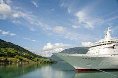 Black Watch, Fred. Olsen Cruise ship in Olden Norway