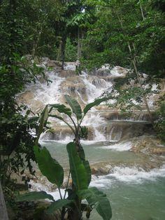 Dunn's River Falls Jamaica Tours   ... at touristy (and gorgeous) Dunn's River Falls in Ocho Rios, Jamaica