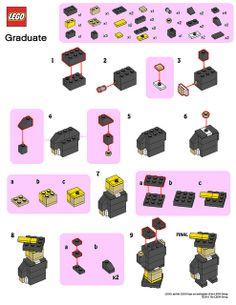 LEGO Store MMMB - June '11 (Graduate) Instructions by TooMuchDew, via Flickr
