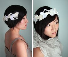 DIY this leafy crown, designed for us by @Twigs & Honey