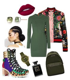 """💚"" by anastasia-silaeva on Polyvore featuring мода, STELLA McCARTNEY, Gucci, 3.1 Phillip Lim, Christian Louboutin, Lime Crime, Chanel, Michele и Pomellato"