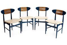 Midcentury Chairs, Set of 4 on OneKingsLane.com