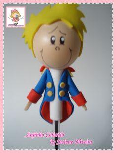 Anjinho Colorido: Apostila pequeno príncipe