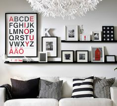 Make it feel like home. Frames and pictures are an easy and flexible way to personalize any space.