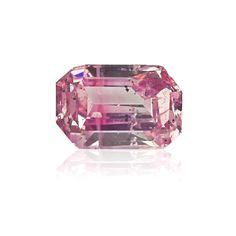 #Carat, #Sothebys, #Diamond, #Auction, #Jewelry, #Bling, #GIA, #Argyle, #EngagementRing, #DiamondRing, #PinkDiamonds, #ColoredDiamonds 0.11 Carat fancy intense purple pink diamond. A rectangular step cut stone with sweet natural color. Certified by GIA.