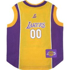 Los Angeles Lakers Licensed NBA Dog Jersey