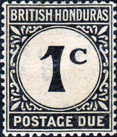 British Honduras 1922 Postage DueSG D1 Fine Mint SG D1 Scott J1 Other British Commonwealth Empire and Colonial stamps Here