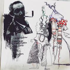 Fashion Portfolio Layout, Fashion Design Sketchbook, Fashion Sketches, Portfolio Design, Portfolio Ideas, Textiles Sketchbook, Sketchbook Pages, Fashion Illustration Collage, Graphic Design Illustration