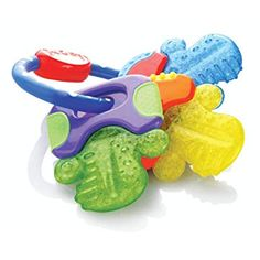 Nuby Ice Gel Teether Keys : Baby Shape And Color Recognition Toys : Toys & Games Baby & Toddler Toy Teething Gel, Teething Toys, Teething Relief, Teething Remedies, Teething Pacifier, Toddler Toys, Baby Toys, Kids Toys, Everything