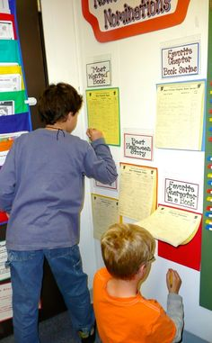 The most powerful bulletin boards speak directly to students, give them a voice, or encourage them to interact with each other in a purposeful way. Read on for examples of successful boards from my...