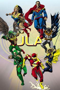 Image detail for -The Black Justice League « WorldofBlackHeroes