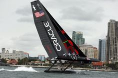 View source image Sail Racing, Catamaran, Sailing, Water, Image, America's Cup, Sail Boats, Kitesurfing, View Source