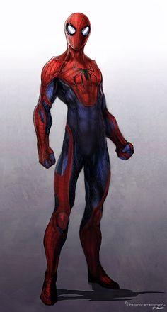 Amazing Spiderman design by JSMarantz.deviantart.com on @deviantART