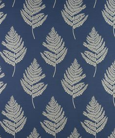 Shop online for Montgomery Fern Fabric (Cobalt) from the collection here at Fashion Interiors.