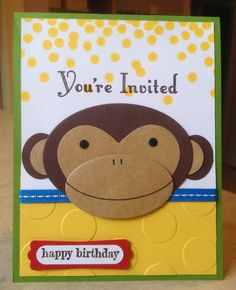 Catherine Loves Stamps: Make a Wish, Something to Say, Dotty Angles, Curious George Punch Art, Polka Dot embossing folder