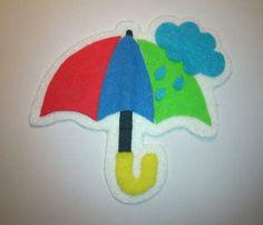 Que tiempo hace hoy? Paraguas fieltro