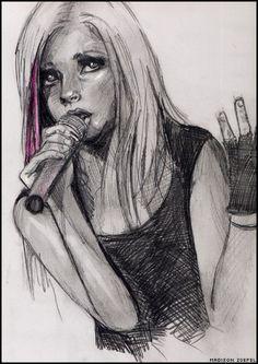 Avril Lavigne by Maddy25 on deviantART