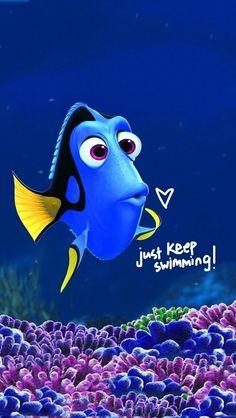 Just keep swimming ❥