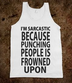 Why I'm Sarcastic - Protego - Skreened T-shirts, Organic Shirts, Hoodies, Kids Tees, Baby One-Pieces and Tote Bags Custom T-Shirts, Organic Shirts, Hoodies, Novelty Gifts, Kids Apparel, Baby One-Pieces   Skreened - Ethical Custom Apparel