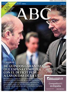 La portada de ABC del martes 6 de octubre