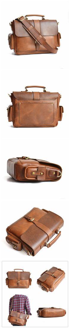 Traveler Briefcase, Mens Briefcase, Womens Briefcase, Handmade Briefcase…