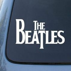 THE BEATLES Vinyl Window DECAL STICKER ·