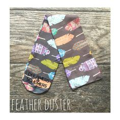 Feather Duster -D&S Equestrian Knee-High Boot Sock