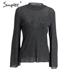 Simplee Vintage blouse shirt women tops Elastic long sleeve blouse winter 2017 Ruffle cool blouse chemise blusas