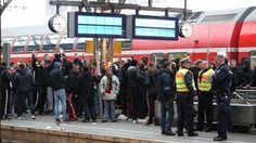 Lautern-Chaoten randalieren in Zug und am Kölner Hauptbahnhof Bahnhof | Zugverkehr zeitweilig gesperrt - News Inland - Bild.de