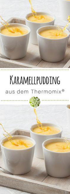 6x Thermomix®️ Pudding - hol Dir das Grundrezept für Karamellpudding aus TM5®️ oder TM31 - die Kids werden Dich dafür lieben! #thermomix #thermomixrezepte #willmixen