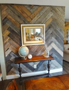 pallet wall entryway - Interior walls of house made of recycled pallet wood. Welcome to a new collection of handmade decor featuring Inspirational Handmade Pallet Wall Decor Ideas To Show Off Your Creativity. Pallet Wall Art, Wall Design, Decor, Pallet Accent Wall, Interior Design Diy, Pallet Wall Decor, Diy Wood Wall, Home Decor, Diy Pallet Wall