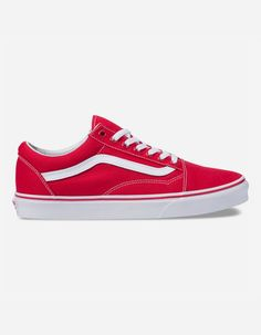 a29b9d2020 VANS Canvas Old Skool Formula One Shoes - RED - 334139300