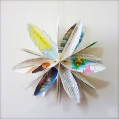 Amoras Crafts and Ideas: #sextacriativa | Paper Bag Flower