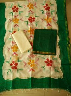 Chanderi dresses Price:1100 #elegantfashionwear #chanderi #salwarsonline