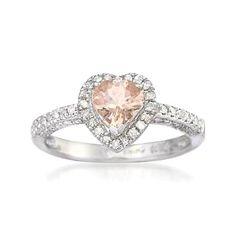 Pink diamond engagement ring. HINT.