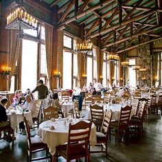 Best place to have a meal: The Ahwahnee Hotel, Yosemite