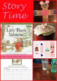 Story Time: Little Bear's Valentine - Crafts and activites to go with the picutre book,  This has some cool candy heart science experiments.