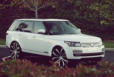 New range rover vogue by lexani >> available for rental in Cote d'Azur and Paris by Saintrop.com!