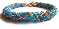 CraftyBird's beautiful bracelet