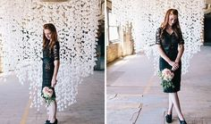 Make This Swoon-Worthy Backdrop With Wax Paper