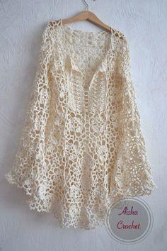 Fabulous Crochet a Little Black Crochet Dress Ideas. Georgeous Crochet a Little Black Crochet Dress Ideas. Black Crochet Dress, Cotton Crochet, Crochet Cardigan, Crochet Shawl, Crochet Lace, Diy Crafts Crochet, Crochet Woman, Beautiful Crochet, Crochet Clothes