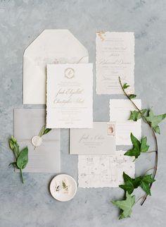 Classic Wedding Invitations, Wedding Invitation Suite, Wedding Stationary, Invitation Design, Invitation Cards, Invite, Calligraphy Invitations, Event Invitations, Wedding Calligraphy