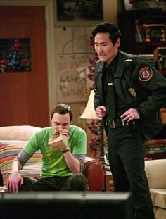 Still of Jim Parsons and Lanny Joon in Big Bang (2007)