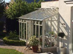 Växthus mot fasad