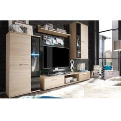 Aberdeen Furniture offers modern home furniture: wardrobes, beds, corner sofa beds, modern living room sets, at the lowest price. 4 Piece Living Room Set, Living Room Sets, Modern Home Furniture, Living Furniture, Tv Wall Decor, Diy Zimmer, Tv Cabinets, Diy Bed, Entertainment Center